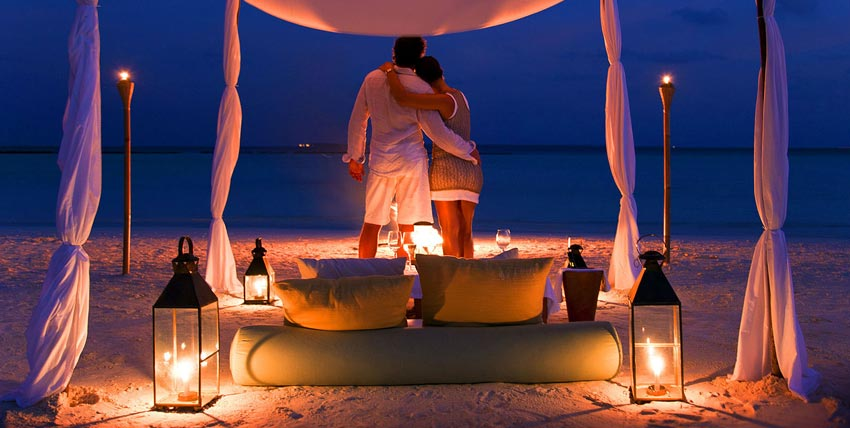 Tremendous Maldives Honeymoon Package
